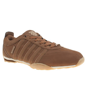 Mens K-Swiss Brown Arvee 1-5 Trainers