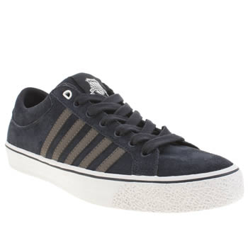 Mens K-Swiss Navy Adcourt La Trainers
