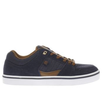 Dc Shoes Navy Course 2 Trainers