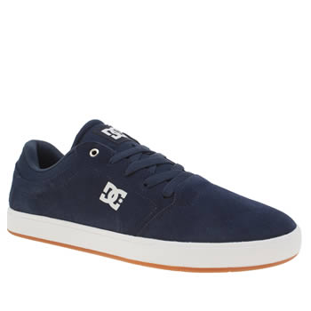 Dc Shoes Navy Crisis Trainers