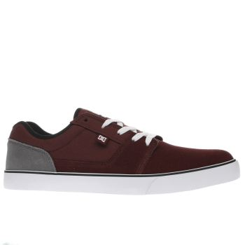 Dc Shoes Burgundy Tonik Mens Trainers