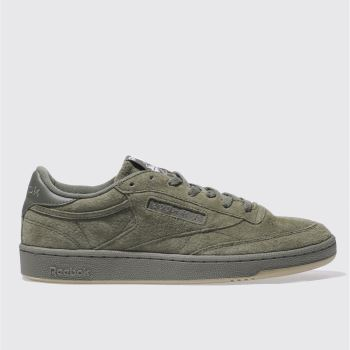 Reebok Khaki Club C 85 Sg Mens Trainers