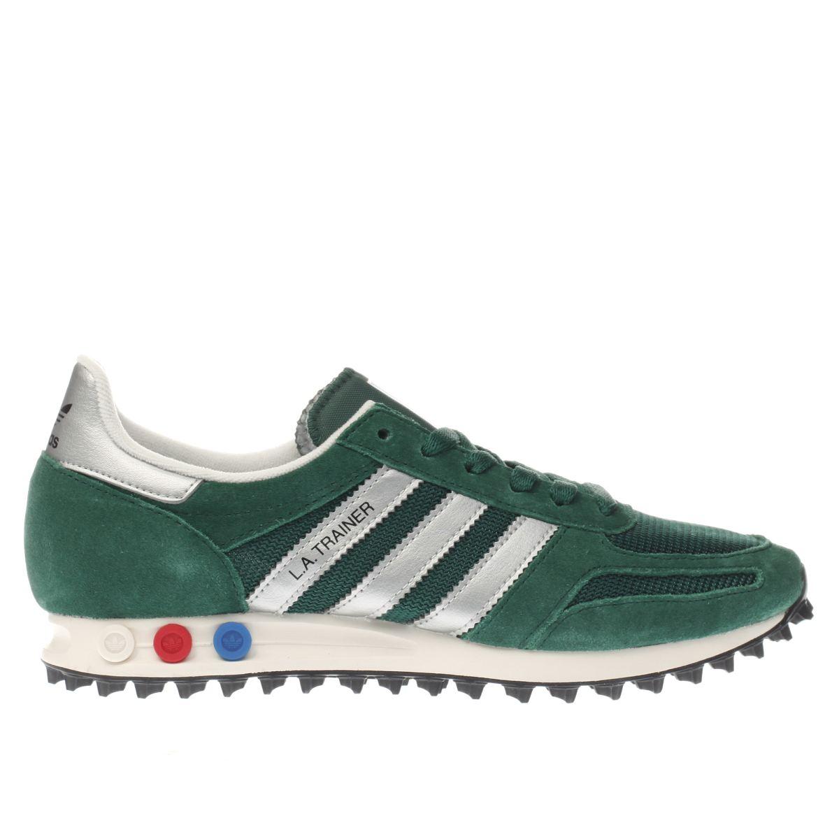 adidas green la trainer og trainers