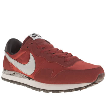 Mens Nike Red Peg 83 Trainers