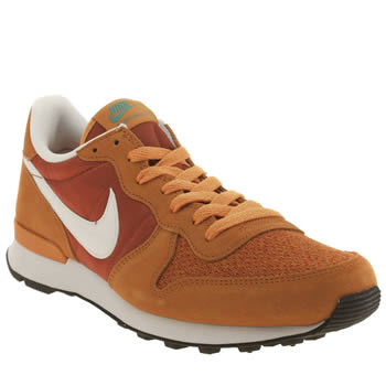 Nike Orange Internationalist Trainers