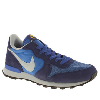 Nike Blue Internationalist Trainers