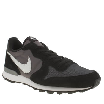 Mens Nike Dark Grey Internationalist Trainers