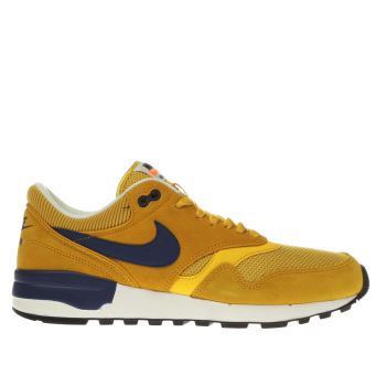 NIKE YELLOW AIR ODYSSEY TRAINERS