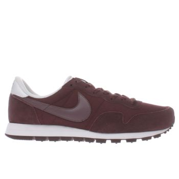 Nike Burgundy Air Pegasus 83 Mens Trainers
