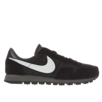 Nike Black & White Air Pegasus 83 Mens Trainers