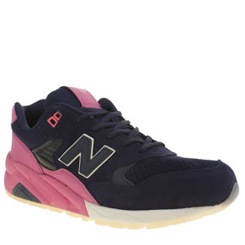 Mens New Balance Navy 580 Trainers