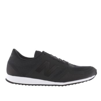 New Balance Navy 420 Microfiber Trainers