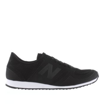 New Balance Black 420 Microfiber Mens Trainers