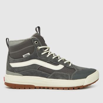 mens nike skateboarding grey mavrik mid 3 trainers