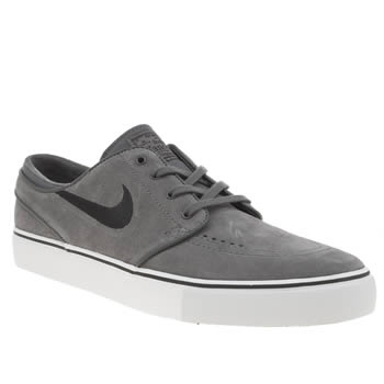 Nike Sb Grey & Black Zoom Stefan Janoski Trainers