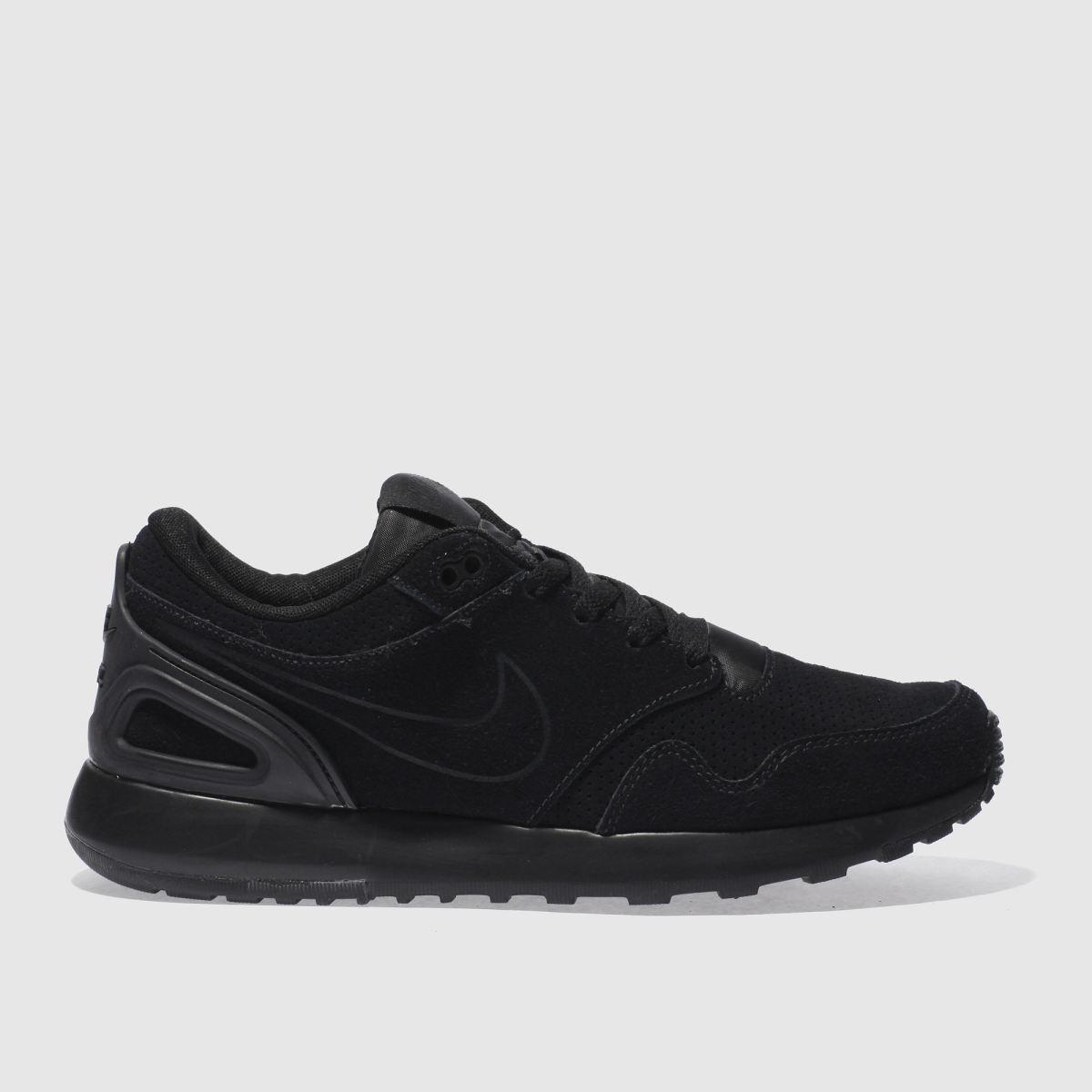 nike black air vibenna premium trainers