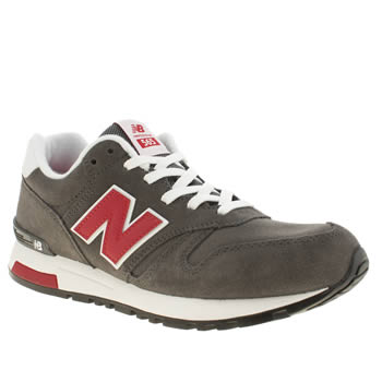 New Balance Dark Grey 565 Trainers