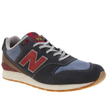 New Balance Navy Mrl996 V2 Mens Trainers