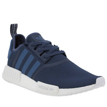 Adidas Navy Nmd R1 Trainers
