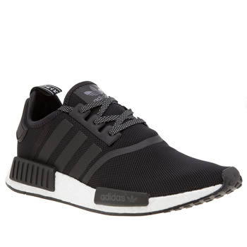 Adidas Black Nmd R1 Trainers