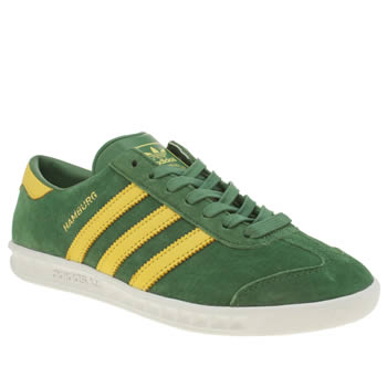 Adidas Green Hamburg Trainers