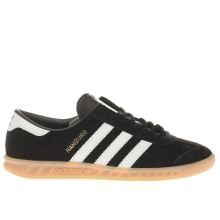 Adidas Black & White Hamburg Mens Trainers