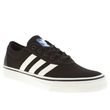 Adidas Black & White Adi-ease Trainers
