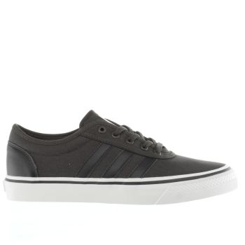 Mens Adidas Dark Grey Adiease Trainers