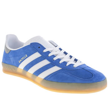 Adidas Blue Gazelle Indoor Trainers