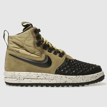 Nike Tan Lunar Force 1 Duckboot Mens Trainers
