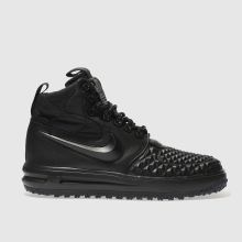Nike Black Lunar Force 1 Duckboot Mens Trainers