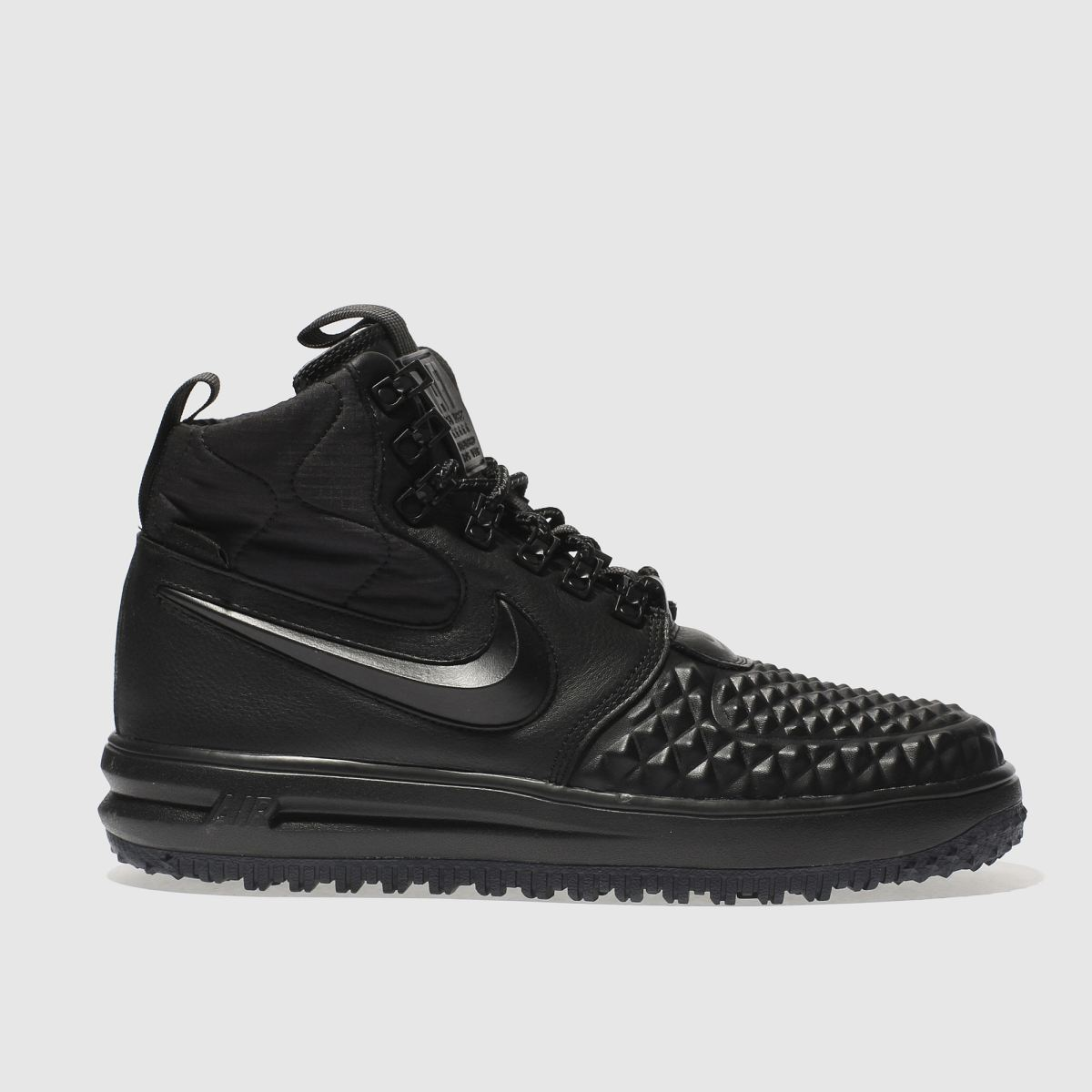 Nike Black Lunar Force 1 Duckboot Trainers