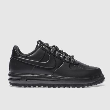 Nike Black Lunar Force 1 Duckboot Low Mens Trainers
