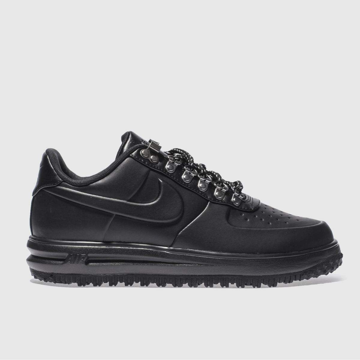 nike black lunar force 1 duckboot low trainers