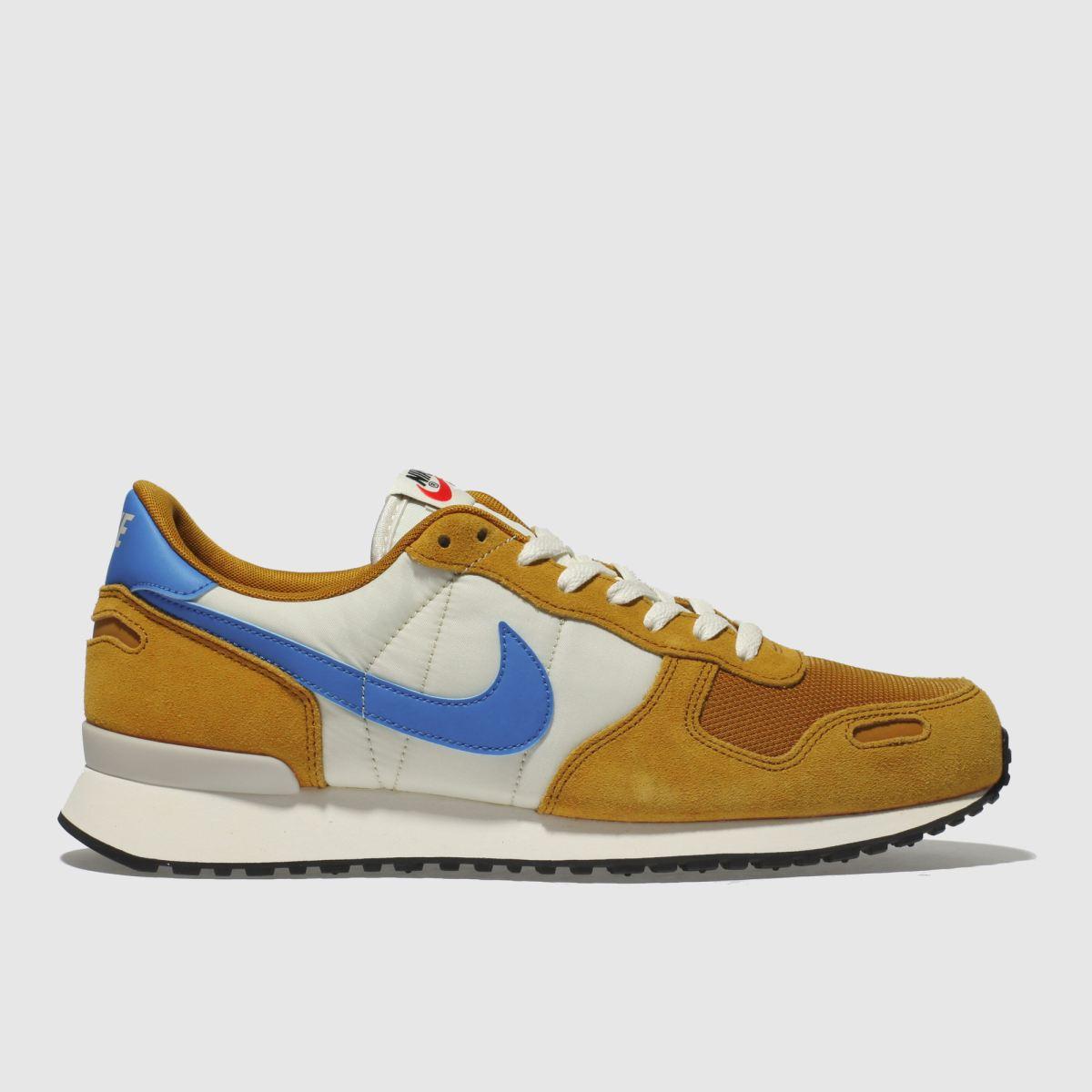 Nike Tan & Blue Air Vortex Trainers