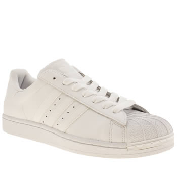 mens adidas white superstar trainers
