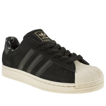 Adidas Black Superstar Ii Camo Trainers