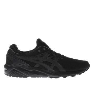 Asics Black Gel-Kayano Evo Mens Trainers