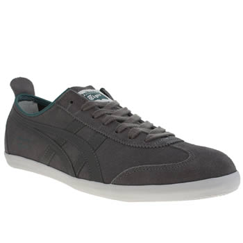 Mens Onitsuka Tiger Grey Mexico 66 Vulc Trainers