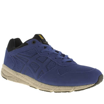 Onitsuka Tiger Blue Shaw Runner Trainers