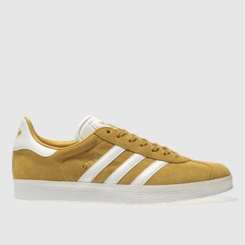 Adidas Yellow Gazelle Mens Trainers