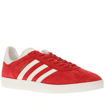 Adidas Red Gazelle Mens Trainers
