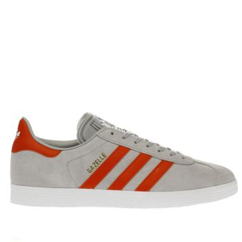 Adidas Grey Gazelle Mens Trainers