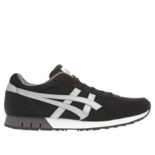 Asics Black & Grey Curreo Mens Trainers