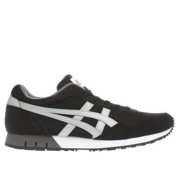 Asics Black & Grey Curreo Trainers
