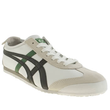 Onitsuka Tiger White & Black Mexico 66 Trainers
