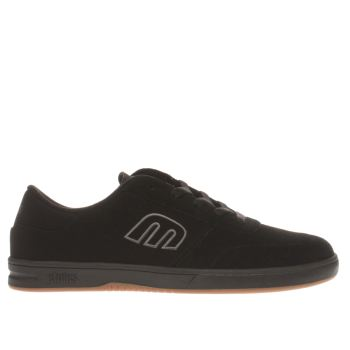 Etnies Black Lo-cut Trainers