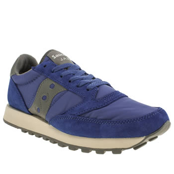 Mens Saucony Blue Jazz Original Trainers