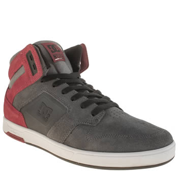 Dc Shoes Grey Nyjah High Se Trainers