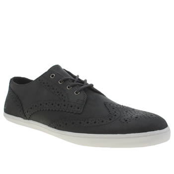 Fred Perry Navy Ealing Leather Trainers